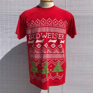 Budweiser Ugly Christmas T-Shirt